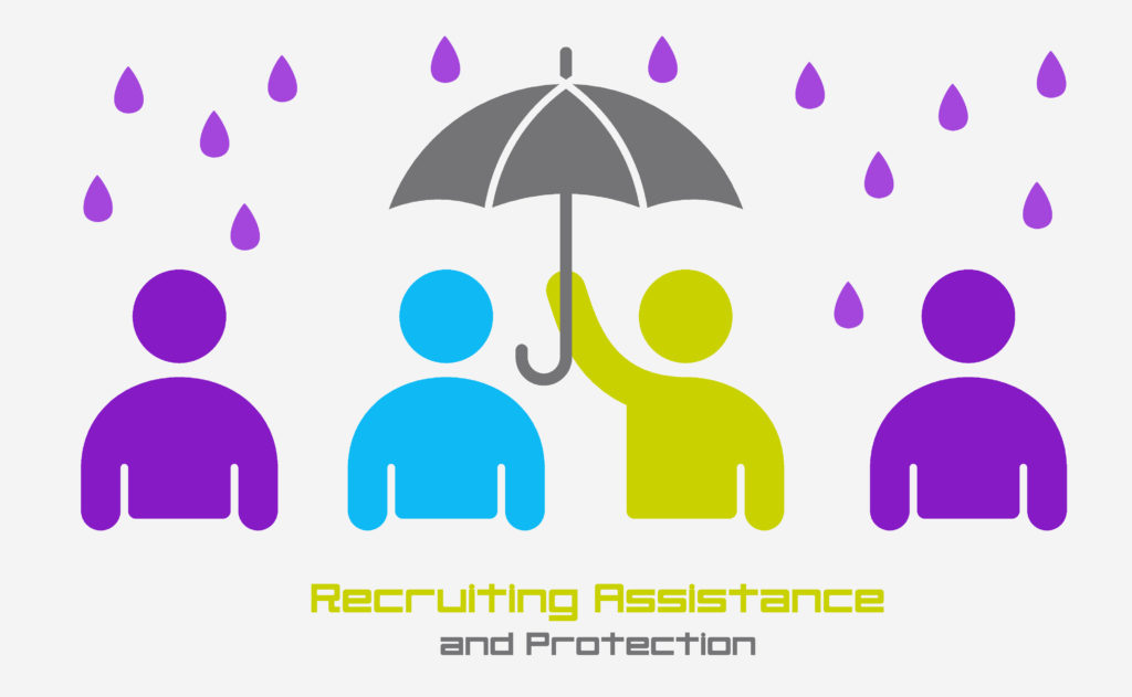 Recruiting Assistance and Protection